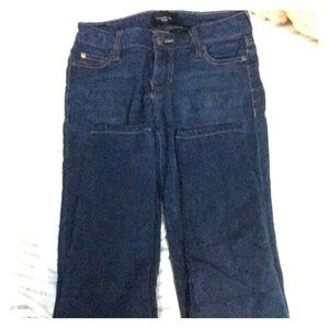 Celebrity pink mid rise skinny jeans size 1